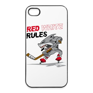 Red White Rules i Phone Case Hai - iPhone 4/4s Hard Case