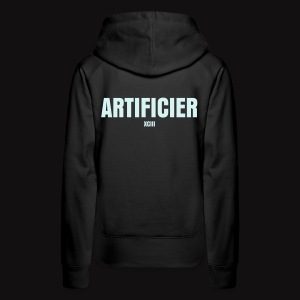Artificier Reflect HOODIE TECHNICIENS DU SPECTACLE - Sweat-shirt à capuche Premium pour femmes