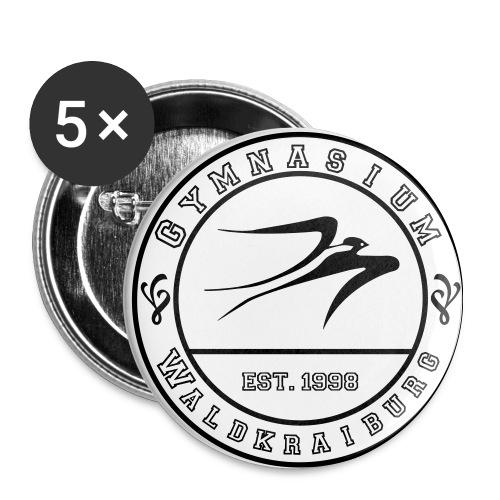 Logo Buttons - Buttons mittel 32 mm