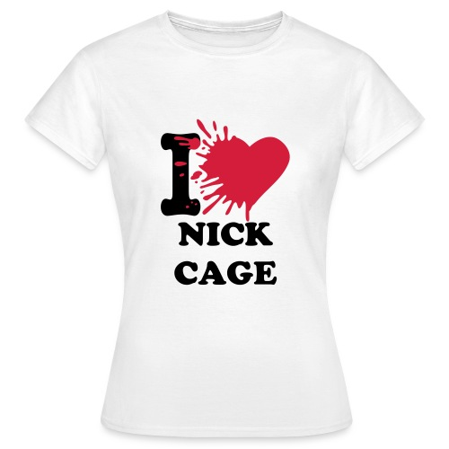 I Heart Nick Cage - Woman - Women's T-Shirt