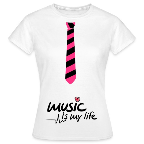 Music = my life  - Vrouwen T-shirt