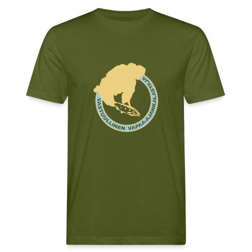 Luontoystävällinen t-paita - Miesten luonnonmukainen t-paita