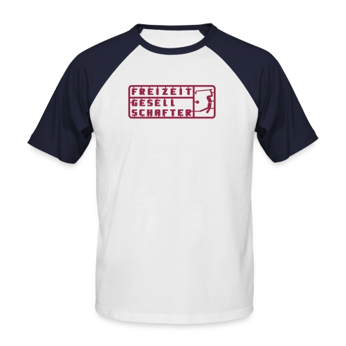 Freizeitgesellschafter - Männer Baseball-T-Shirt