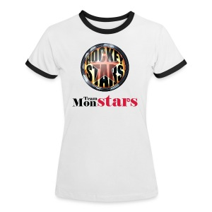 Teamshirt - Hockey Stars - Team MonStars - Vrouwen contrastshirt
