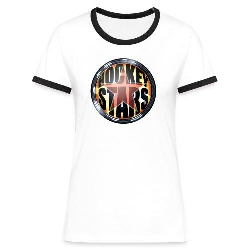 Teamshirt - Hockey Stars - Vrouwen contrastshirt