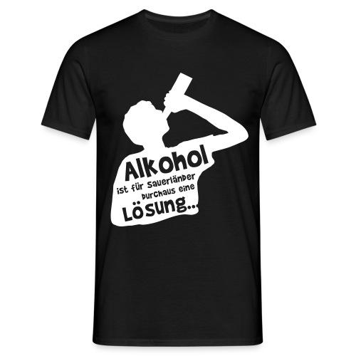 Lösung - Männer T-Shirt