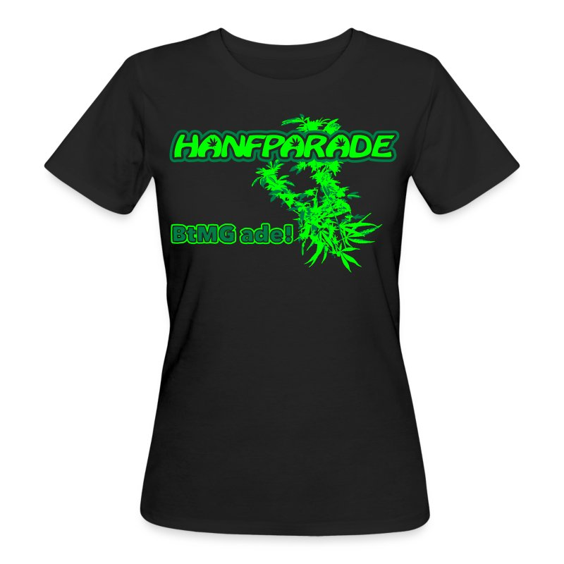 Hanfparade 2011 - BIO Girly-TShirt  - Frauen Bio-T-Shirt