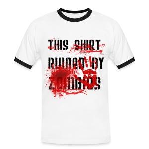 Zombie Killer T-Shirt - Men's Ringer Shirt