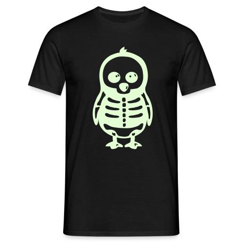 Pingouin Squelette T-shirt Homme - T-shirt Homme