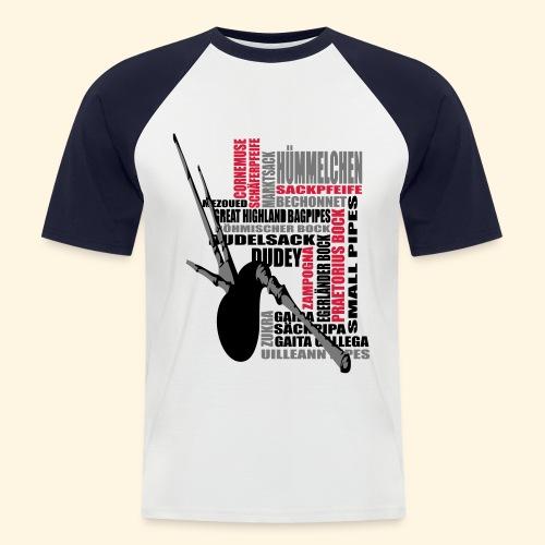 Männer Baseballshirt - Dudelsack - Männer Baseball-T-Shirt