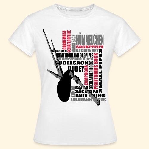 Frauen TShirt - Dudelsack - Frauen T-Shirt