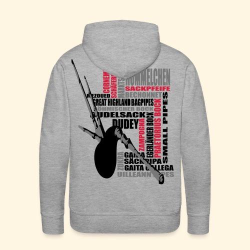 Männer Kapuzenpulli - Dudelsack - Männer Premium Hoodie