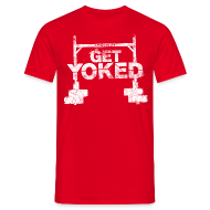 T-Shirts ~ Men's T-Shirt ~ Get Yoked