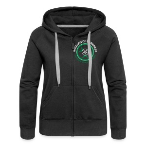 Frauen Premium Kapuzenjacke - HaZZard of Darkness,Kapuzenjacken,Klamotten,Merch,Shop