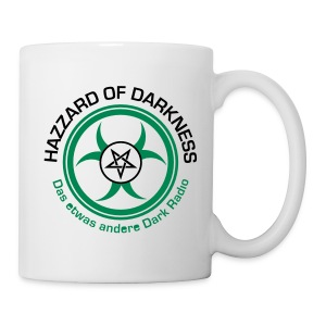 Tasse - HaZZard of Darkness,Kaffeebecher,Kaffeetasse,Klamotten,Merch,Shop,Tasse