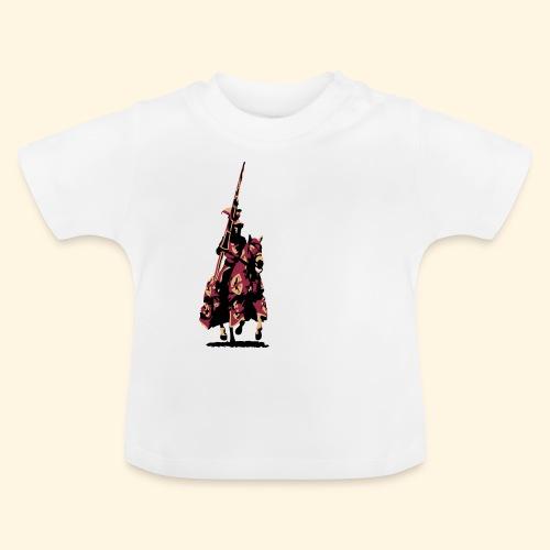 Baby TShirt - Ritter mit Lanze - Baby T-Shirt