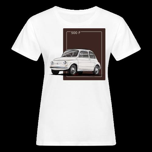 Fiat 500 F Illustration - Frauen Bio-T-Shirt