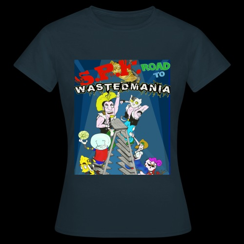Wastedmania Front Girl - Maglietta da donna