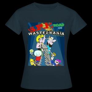Wastedmania Rules Girl - Maglietta da donna