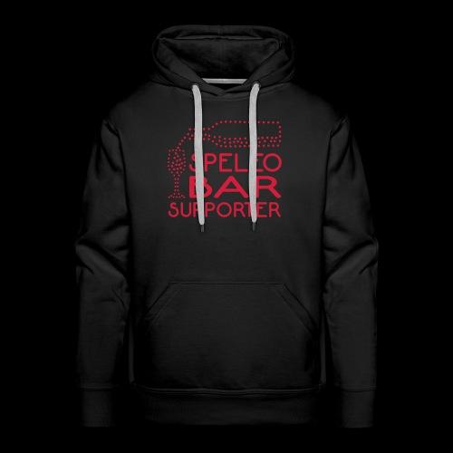Speleobsr_supporter - Felpa con cappuccio premium da uomo
