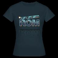 Camisetas ~ Camiseta mujer ~ Agencia ROM (mujer)