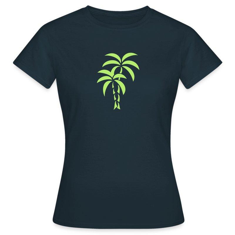Palm Tree / Tattoo Style / Vector / T-shirt