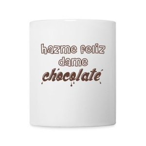 taza chocolate hazme feliz - Taza