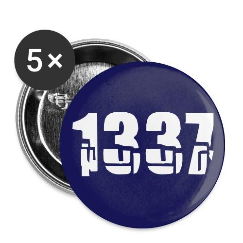 1337 badges - Buttons medium 32 mm