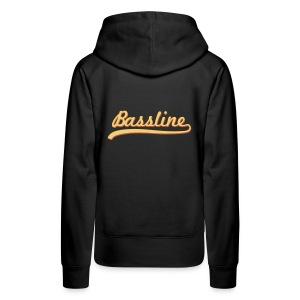 Bassline Hoodie Female - Women's Premium Hoodie