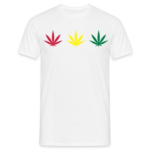 rasta leafs - Men's T-Shirt