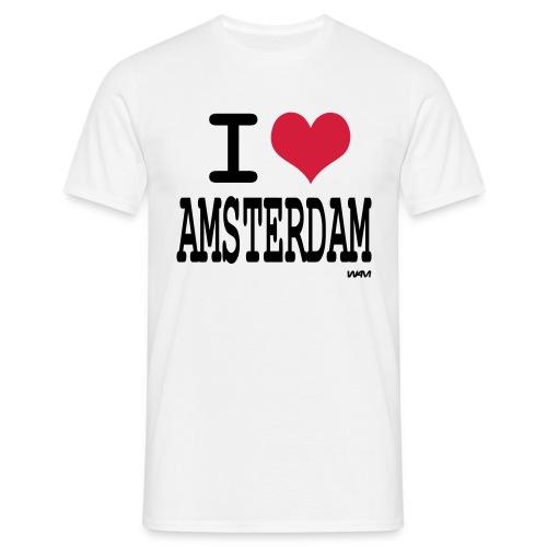 i love amsterdam - Men's T-Shirt