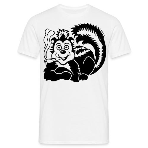 skunk smoker - Men's T-Shirt