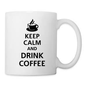 Keep calm and drink coffee - Mok