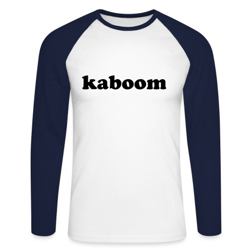 marque:kaboom - T-shirt baseball manches longues Homme