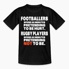 Footballers Pretend to Be Hurt Shirts