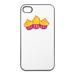 3cupcakes - iPhone 4/4s Hard Case