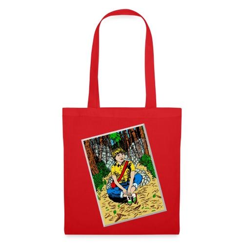 tas met boself - Tas van stof