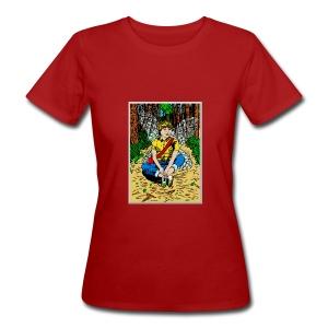biologisch vrouwen T-shirt met een boself - Vrouwen Bio-T-shirt