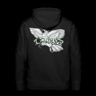 Hoodies & Sweatshirts ~ Men's Premium Hoodie ~ I'M A BIRD Hoodie (Back)