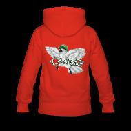 Hoodies & Sweatshirts ~ Women's Premium Hoodie ~ I'M A BIRD Hoodie (Back) (Women)