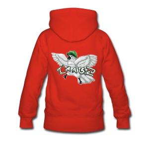 I'M A BIRD Hoodie (Back) (Women) - Women's Premium Hoodie