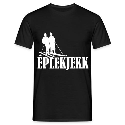 Eplekjekk T-Skjorte Sort - T-skjorte for menn