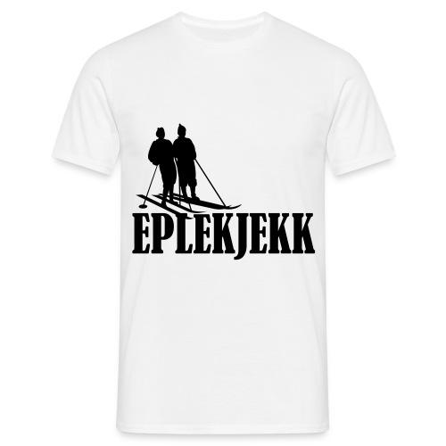 Eplekjekk T-Skjorte Hvit - T-skjorte for menn