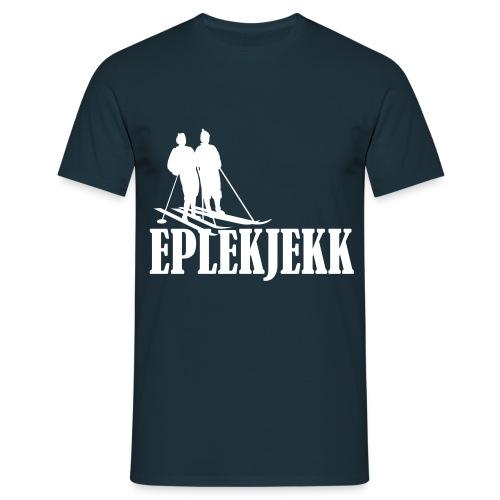 Eplekjekk T-Skjorte Marineblå - T-skjorte for menn