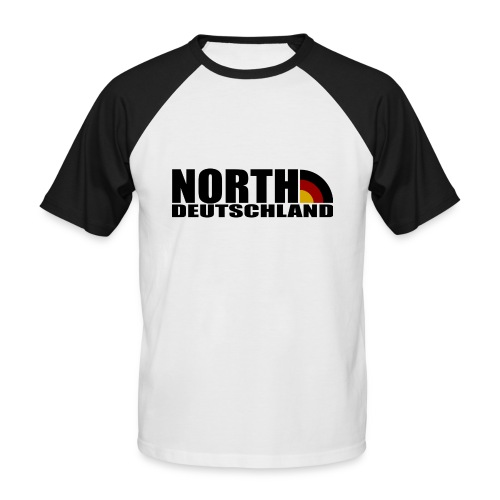Northdeutschland - bunt - Männer Baseball-T-Shirt