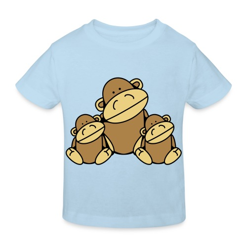 Aapjes shirt - Kinderen Bio-T-shirt