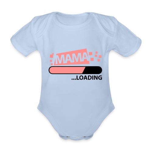Mama - Baby bio-rompertje met korte mouwen