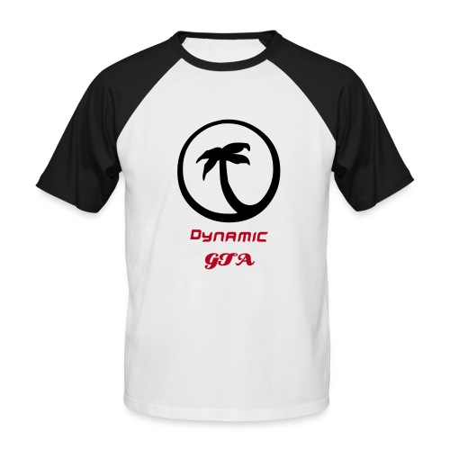 Dynamic GTA T-Shirt - Männer Baseball-T-Shirt