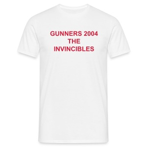 Arsenal-The Invincibles - T-shirt Homme