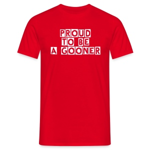 Arsenal-Proud to be a gooner - T-shirt Homme